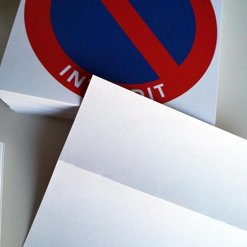 stickers pour signaler un stationnement gênant