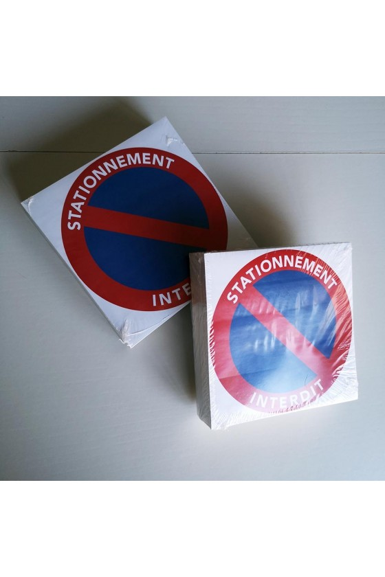 "Stickers ""stationnement interdit"""