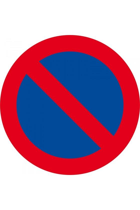 Autocollants dissuasifs de stationnement gênant