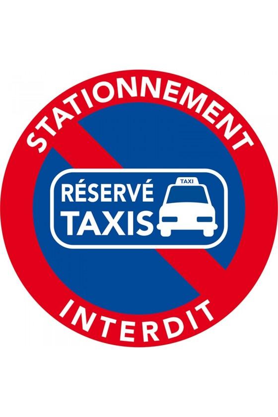 stationnement interdit car place réservée aux taxis