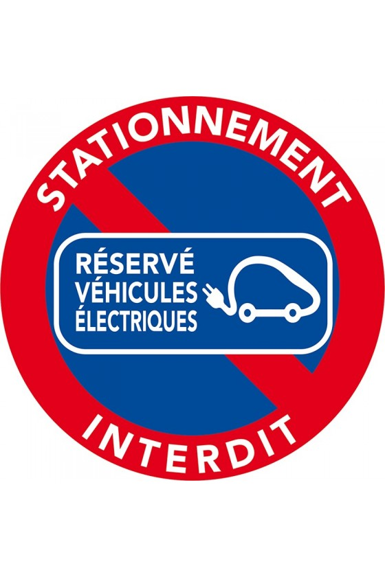 stationnement réservé aux véhicules électriques