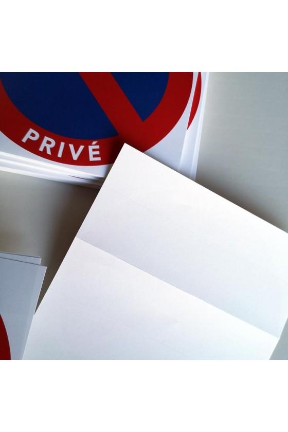 interdiction de stationner abusivement dans un parking privé