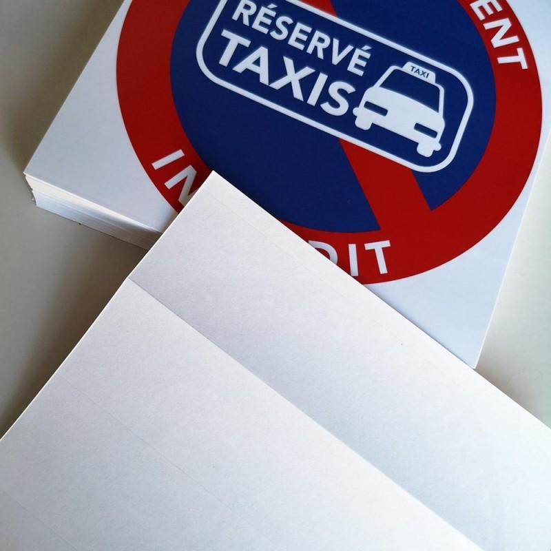 interdiction de stationner sauf taxis